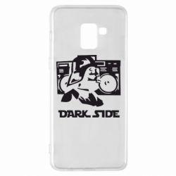 Чехол для Samsung A8+ 2018 Темная сторона Star Wars