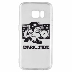 Чехол для Samsung S7 Темная сторона Star Wars