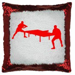 Подушка-хамелеон Тенісний стіл