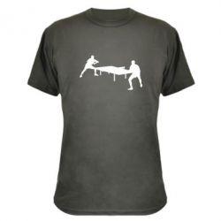 Камуфляжная футболка Теннисный стол - FatLine
