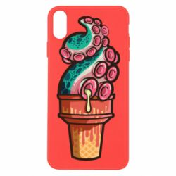 Чехол для iPhone X/Xs Tentacle ice cream