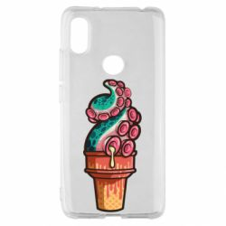 Чохол для Xiaomi Redmi S2 Tentacle ice cream
