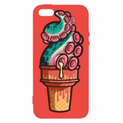 Чохол для iphone 5/5S/SE Tentacle ice cream