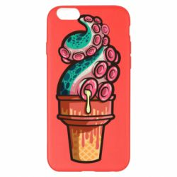 Чехол для iPhone 6 Plus/6S Plus Tentacle ice cream