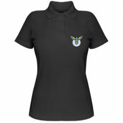 Женская футболка поло Територіальна оборона