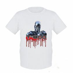 Детская футболка Терминатор Т-800