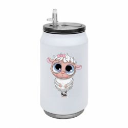 Термобанка 350ml Cute lamb with big eyes