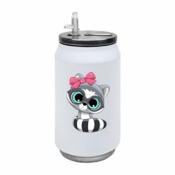 Термобанка 350ml Cute raccoon