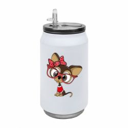 Термобанка 350ml Dog with big glasses