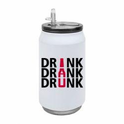 Термобанка 350ml Drink Drank Drunk