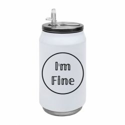 Термобанка 350ml Im fine and circle