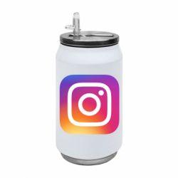 Термобанка 350ml Instagram Logo Gradient