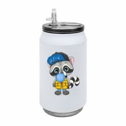Термобанка 350ml Little raccoon