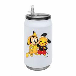 Термобанка 350ml Mickey and Pikachu
