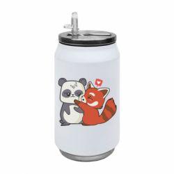 Термобанка 350ml Panda and fire panda
