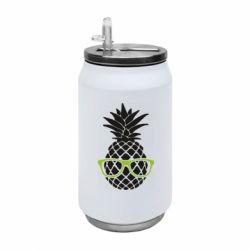 Термобанка 350ml Pineapple with glasses