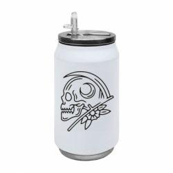 Термобанка 350ml Skull with scythe