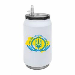 Термобанка 350ml Україна Мапа
