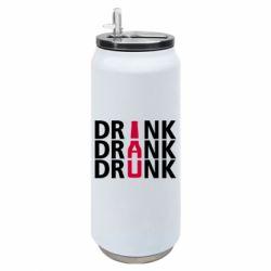 Термобанка 500ml Drink Drank Drunk