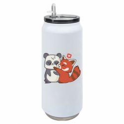 Термобанка 500ml Panda and fire panda
