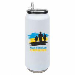 Термобанка 500ml War veteran оf Ukraine