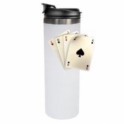 Термокружка 4 cards - FatLine