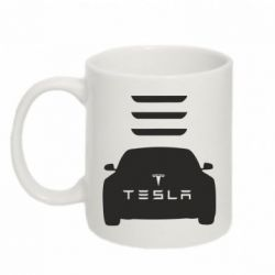 Кружка 320ml Tesla Car