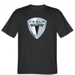 Мужская футболка Tesla Corp - FatLine
