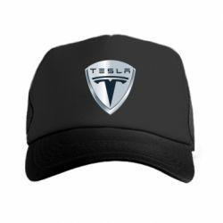 Кепка-тракер Tesla Corp - FatLine