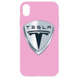 Чехол для iPhone XR Tesla Corp