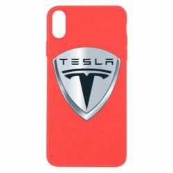 Чехол для iPhone Xs Max Tesla Corp