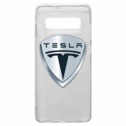Чехол для Samsung S10+ Tesla Corp