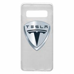 Чехол для Samsung S10 Tesla Corp