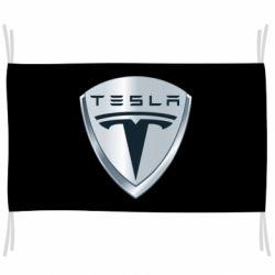 Флаг Tesla Corp
