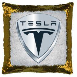 Подушка-хамелеон Tesla Corp