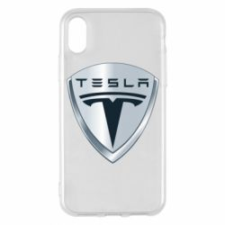 Чехол для iPhone X/Xs Tesla Corp