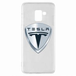 Чехол для Samsung A8+ 2018 Tesla Corp