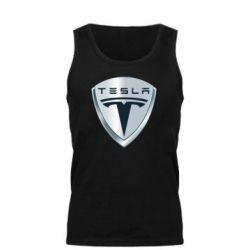 Мужская майка Tesla Corp - FatLine