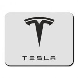 Коврик для мыши Tesla Logo - FatLine