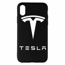 Наклейка Tesla Logo - FatLine