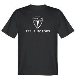 Мужская футболка Tesla Motors - FatLine