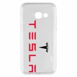 Чехол для Samsung A3 2017 Tesla