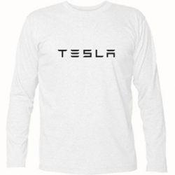 Футболка с длинным рукавом Тесла
