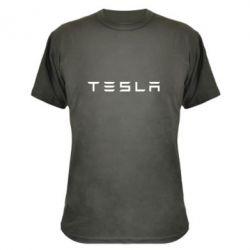 Камуфляжная футболка Тесла - FatLine
