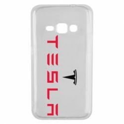 Чехол для Samsung J1 2016 Tesla