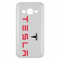 Чехол для Samsung J2 2015 Tesla
