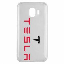 Чехол для Samsung J2 2018 Tesla