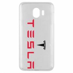 Чехол для Samsung J4 Tesla