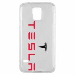 Чехол для Samsung S5 Tesla