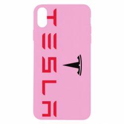 Чехол для iPhone Xs Max Tesla